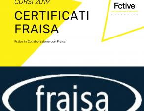 Corsi certificati Fraisa