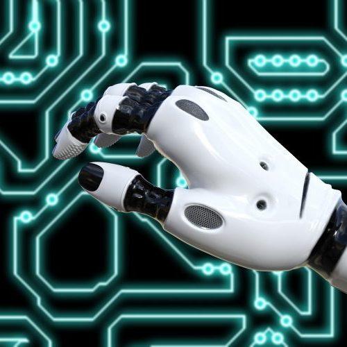 technology-mano-robot